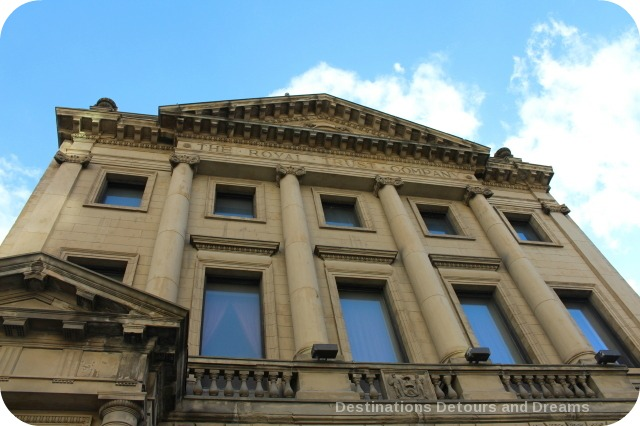 Exchange District photo tour - Bank of British North America building
