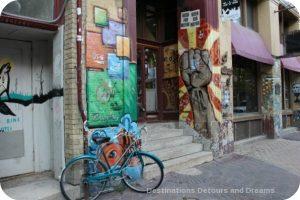 Exchange District photo tour - graffiti