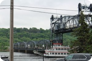 Stillwater Life Bridge in operation