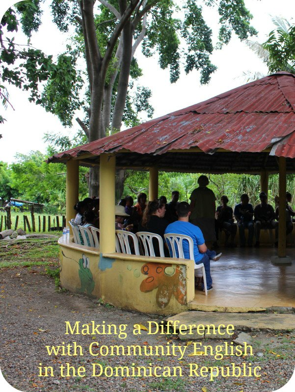 Making a Difference with Community English in the Dominican Republic