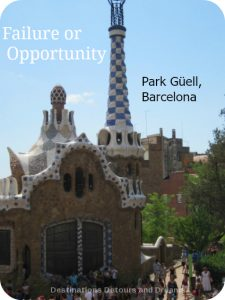 Failure or Opportunity? Park Guell in Barcelona, Spain
