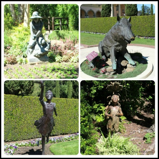 Sculptures in Ferrari-Canaro gardens, Dry Creek Valley