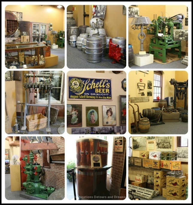 German Craft Beer in Minnesota: Museum at Schell's Brewery