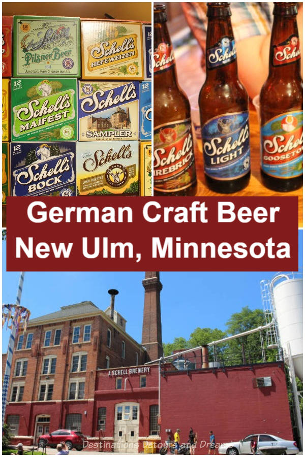 German Craft Beer In Minnesota: a tour of Schell's Brewery and Museum in New Ulm, Minnesota as well as a tasting