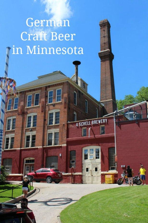 German Craft Beer in Minnesota - Schell's Brewery, New Ulm