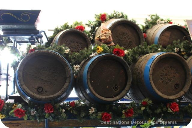 German Craft Beer in Minnesota: Schell's Brewery beer wagon