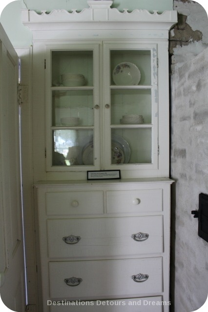 Cabinet in Great Room of Friesen Housebarn, Neubergthal National Historic Site