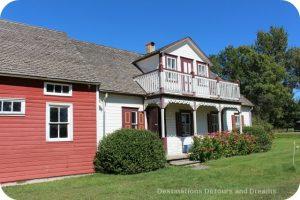 Friesen Housebarn Interpretative Centre in Neubergthal National Historic Site