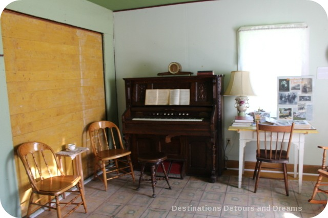 Great Room in Friesen Housebarn, Neubergthal National Historic Site