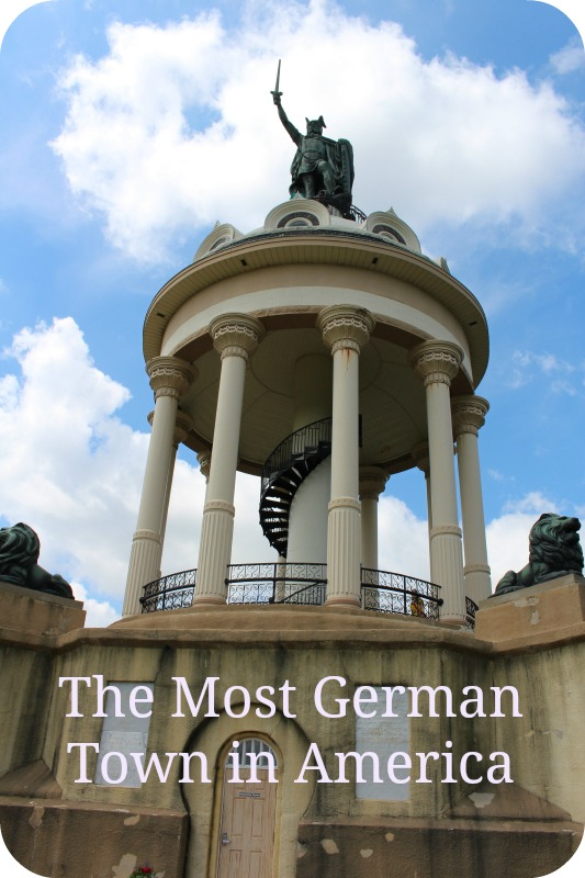 Hermann Monument in New Ulm, Minnesota - the most German town in America #Minnesota #VisitUSA #Germantown