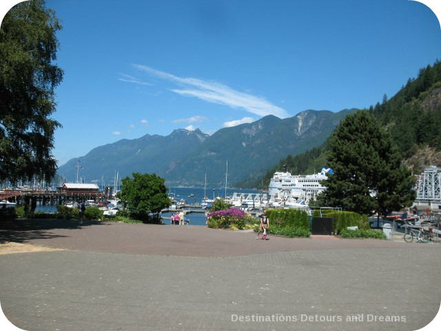 Horsehoe Bay, at the start of the Sea to Sky Highway in British Columbia