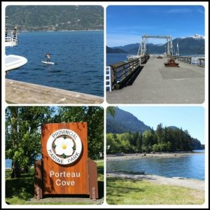 Porteau Cove on the Sea to Sky Highway in British Columbia