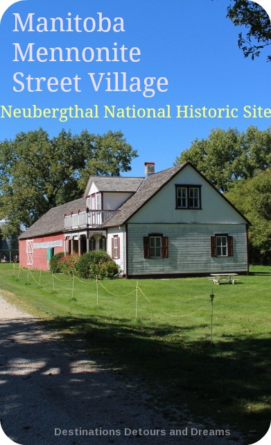 Manitoba Mennonite Street Village - Neubergthal National Historic Site