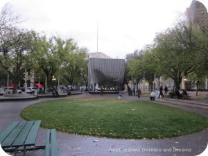 Old Market Square, Winnipeg - venue for Mass Appeal Horns