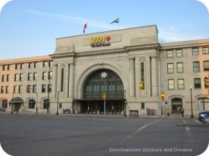 Winnipeg Union Station: venue for Mass Appeal Choir
