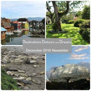 Destinations Detours and Dreams Newsletter