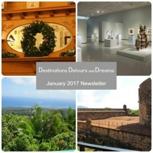 Destinations Detours and Dreams January 2017