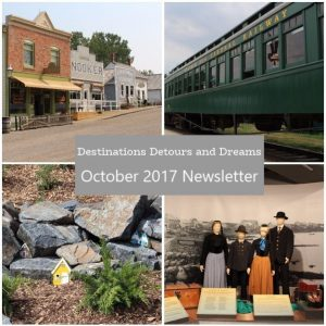 destinations Detours and Dreams October 2017 Newsletter