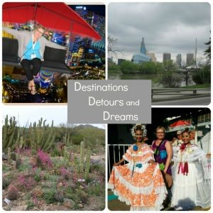 Sign Up for Destinations Detours and Dreams Monthly Newsletter