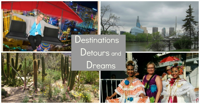 Destinations Detours and Dreams Monthly Newsletter