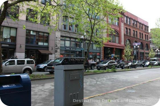 Pioneer Square, Seattle's original neighbourhood
