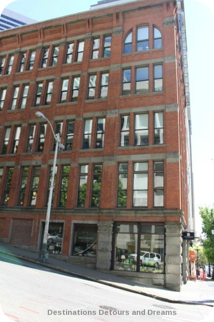 Holyoake Building in Seattle's Pioneer Square