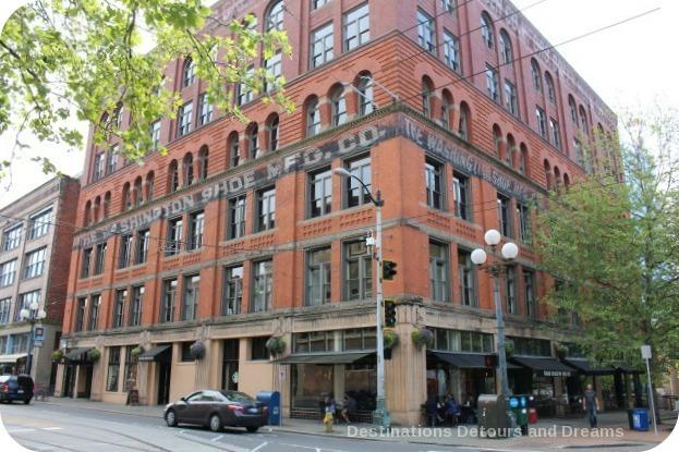 Washington Shoe Company Building in Seattle