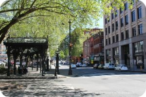 Pioneer Square area of Seattle, Washington