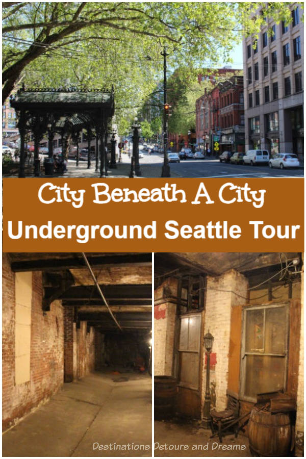 Underground Seattle Tour: The original city of Seattle, Washington, is located beneath the current Pioneer Square neighborhood. Discover the city beneath a city on an underground tour.