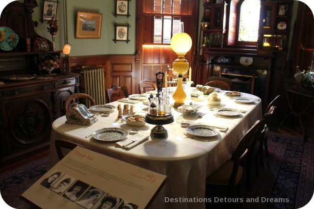 Craigdarroch Castle: Breakfast Room