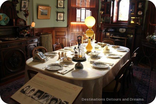 Craigdarroch Castle: Breakfast Room