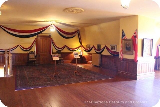 Craigdarroch Castle: Dance hall