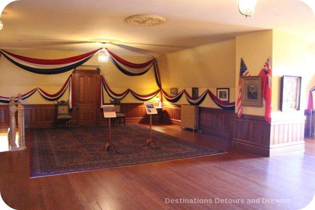 Craigdarroch Castle: Dance hall