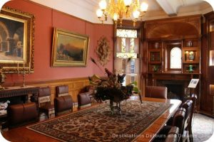 Craigdarroch Castle: Dinning Room