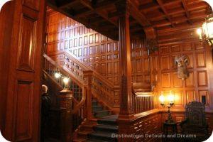 Craigdarroch Castle: Main Hall