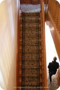 Cragidarroch Castle: Servant staircase