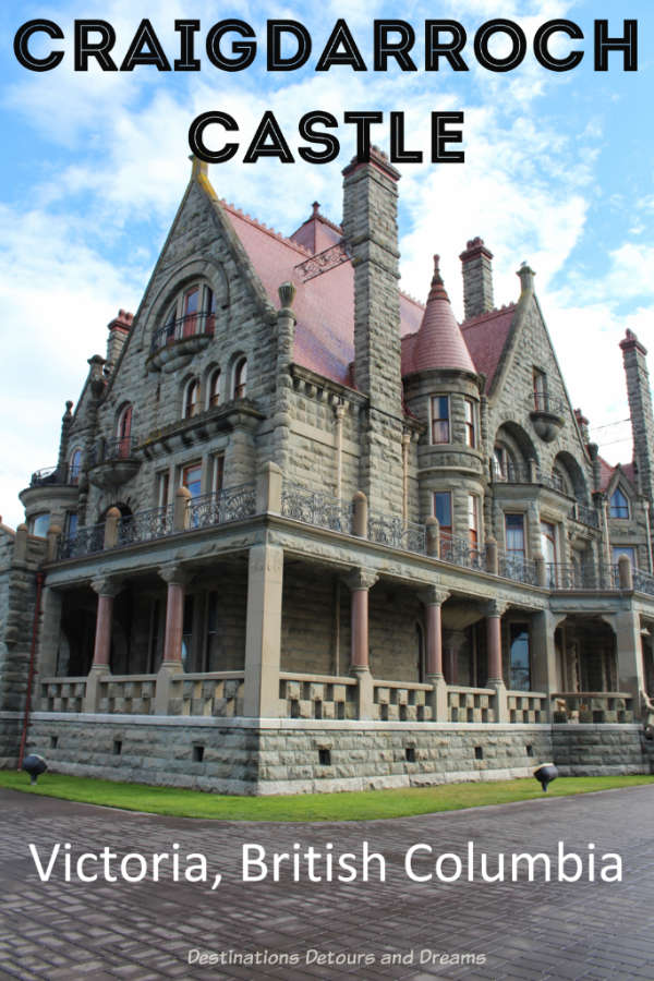 Craigdarroch Castle, a restored Victorian mansion in Victoria, British Columbia portrays upper-class life at the time and showcases the role the house played in the history of the city. #Victoria #Canada #BritishColumbia #castle #history