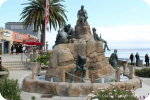 A Day in Monterey: Cannery Row Monument