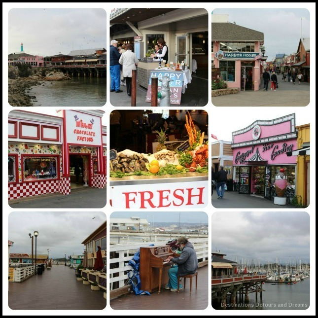 A Day In Monterey; Old Fisherman's Wharf