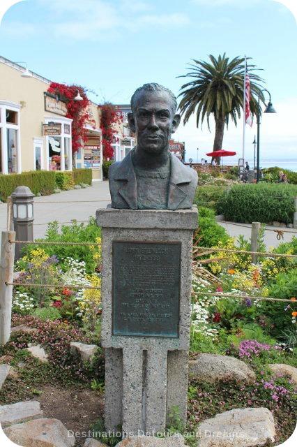A Day In Monterey: John Steinbck Statue