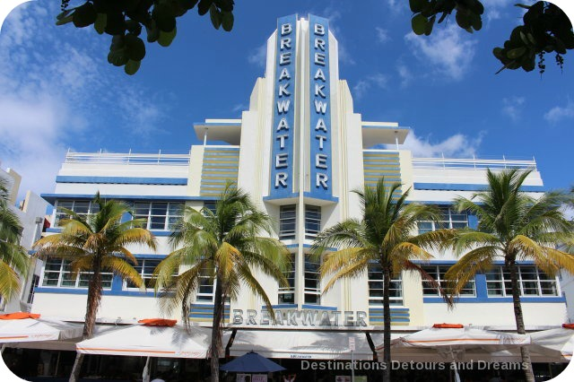 South Beach Art Deco Tour: Breakwater Hotel