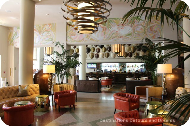 South Beach Art Deco Tour: Tides lobby