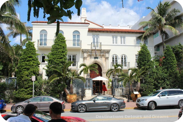 South Beach Art Deco Tour: former Versace mansion