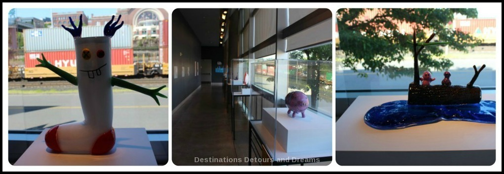 Tacoma: City of Glass: Kids Design Glass exhibit at Museum of Glass