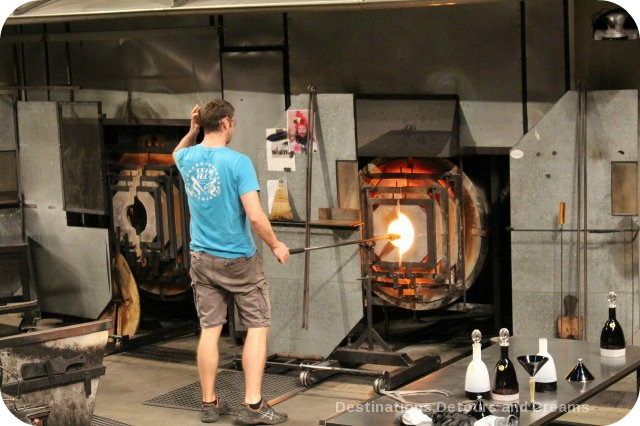Tacoma: City of Glass - into the fire at the Museum of Glass Hot Shop