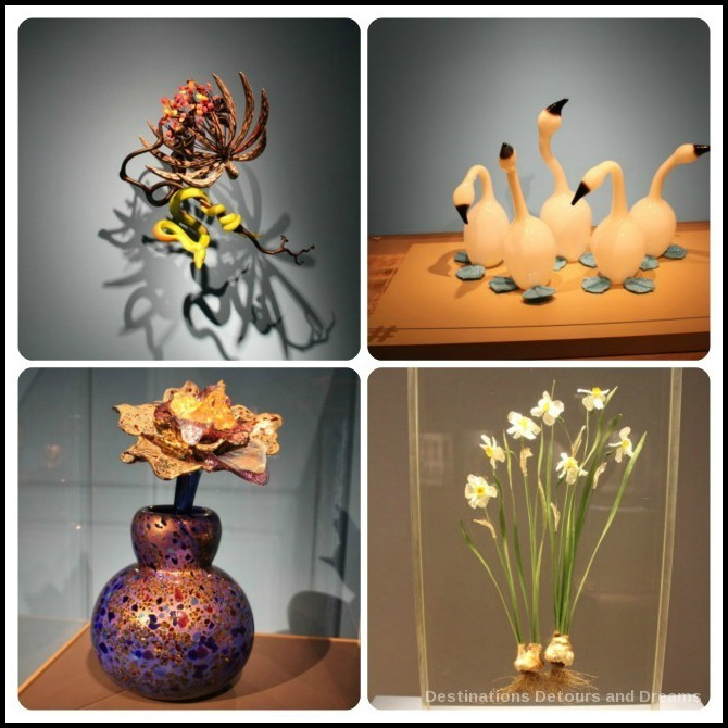 Tacoma: City of Glass - displays at Museum of Glass