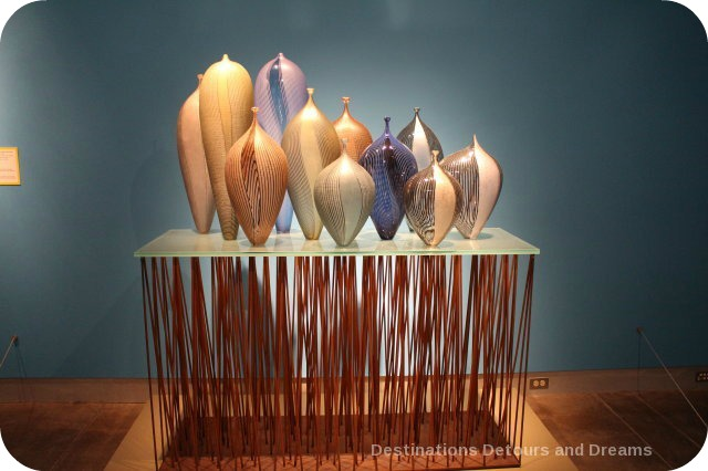 Tacoma: City of Glass - display at Museum of Glass