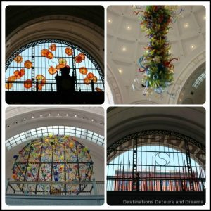Tacoma: City of Glass - Chihuly art in Union Station