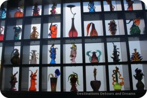 Tacoma: City of Glass - Chihuly Bridge of Glass Venetian Wall