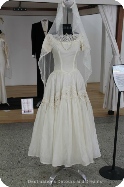 Wedding Dress View Into The Past: Carol Shields dress